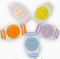 Wholesale New Cotton Baby knee protector leging Baby knee pads baby elbow pad baby knee Support baby pad mat guard baby safety Colors for Choose