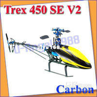 Electric arf airplane - Trex V2 ARF Carbon RC Helicopter Metal Upgrade KIT