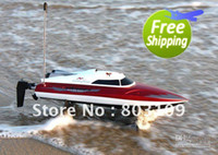 Wholesale Double Horse high speed racing boat DH CM ch rc ship servo radio control km h free shippin