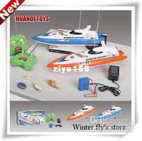 Wholesale best gift RC Boat R C Racing Boat RC Electric Radio Remote Control Speed Ship rc Toys boats HQ