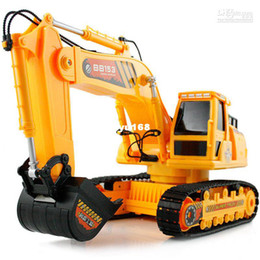 Wholesale Hercules vlsivery large wireless remote control excavator toy car child excavator remote control car