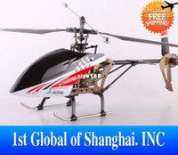 Electric 2 Channel 1:4 Wholesale - Best Quality 2012 New Product FX059 4CH 2.4G Single Propeller Big Remote Control RC Helicopter Same