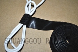 Wholesale 3 quot Width yard length Cable Zip Ties Self Locking strap rolls injected hook cable cord wrap Black