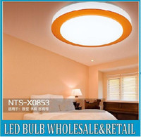 Wholesale 7w mm blue orange purple lampshade led ceiling light suspended round aisle lamp v for kitchen washroom gallery