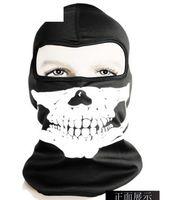 Masks Unisex  Hot Half Face Sport Mask Skull Balaclava Ski Masks Printing Bicycle Cycling Motorcycle Ski Anti-Pollution Warm Protector Veil Free Shipping