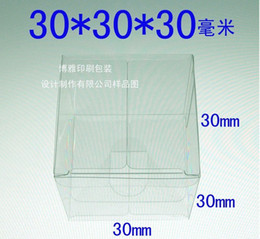 Wholesale Hot Sales cm Spot PVC clear plastic box PVC folding box Display toy cake gift etc box