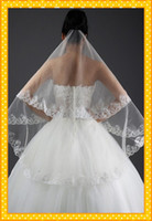 veils accessories online store - White Ivory Wedding Veils Best Selling Cheap Veils Fingertip Organza Bridal Veils Wedding Bridal Accessory Stores Online
