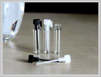 Tester perfume Prix-Fedex Livraison gratuite, 1ml mini-parfum flacon en verre, parfum flacon d'échantillon, testeur bouteille