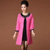 Coats Women Middle_Length New 2013 Autumn Ladies Fashion coats Medium-long Elegant Sequined Outerwear M-XXL