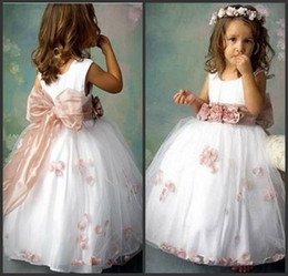 Discount Flower Girl Dresses Big Bowknot  2017 Flower Girl ...