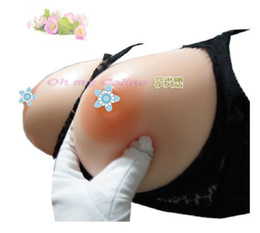 Wholesale g silicone breast forms B cup open bra support artificial boobs for shemalwholesale for shemale