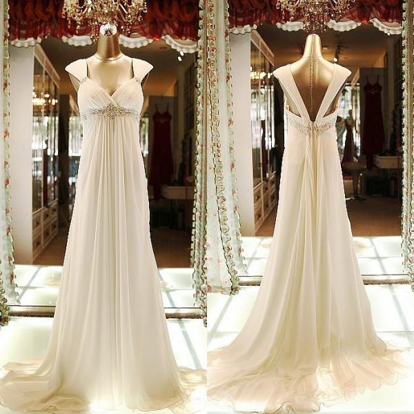 Wedding dresses for pregnant women 2014 free shipping for Wedding dress for pregnant woman