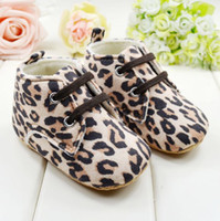 Wholesale 3 pairs Fashion leopard print baby shoes Baby warm Shoes home Soft Sole leather infant shoes seek for