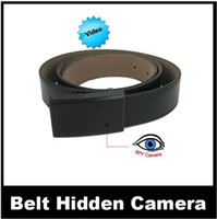 Wholesale Metal Buckle with Faux Leather Belt Spy Camera DVR Digital Video Recorder Camcorder with USB Cable