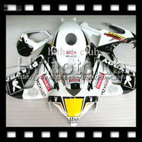 Wholesale 7gifts Free Customized For HONDA CBR1000RR PLAYBOY CBR RR HL8115 CBR1000 RR NEW Black white Fairing