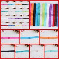 Wholesale 2013 Hot Sale Elastic Headbands Interchangeable Fold Over Stretchy Headbands For Babies Shimmery Headband