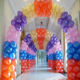 Wholesale Nice New Assorted Colour Balloons High Quality Wedding decoration Birthday party balloon Giving an inflator