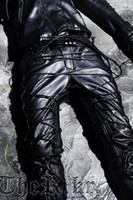 Wholesale Byther empire cross motorcycle leather pants leather pants yuno