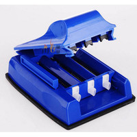 Wholesale New Manual Triple Electric Cigarette Tobacco Tube Injector Roller Maker Rolling Machine Colors