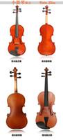 Wholesale All types of solid wood violin Children s violin pocket sized violin mini violin size violin