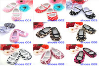 Wholesale Toddler Shoes Dot polka shoes First walker Rubber shoes Non slip Baby infants shoes footwear