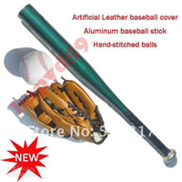 Wholesale baseball gloves baseball ball Aluminum alloy stick bat