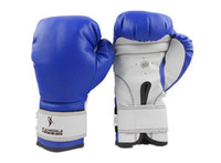 Wholesale pair kangrui breathable Boxing Gloves black blue red muay thai boxing