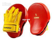 Wholesale pair High quality Sanshou fighting training boxing Focus pad mitt sandbag Punch Pad mma Muaythai m