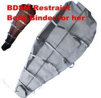 Cheap BDSM Body Bondage Sex Games Sleep Sack Body Binder Bag Kinky Fetish Bondage Gadgets Femdom Adult Sex Toys