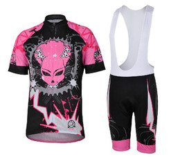 Women's Short Cycling Suit 2013 Devil Gear Pink Cycling Short sleeve + Shorts with pad bike jersey bicycle wear maillot Tour de France