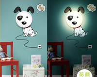 Wholesale Retail Novelty Items DIY D Wallpaper Lamp Vinyl Wall Stickers Home Decorations Night Light