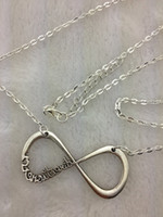 Unisex airplane hearts - INFINITY One Direction forever Directioner amp Paper airplane necklace Harry Styles Charm chain jewelry hy010