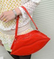 Free shipping newest fashion Sexy lips Clutch Bag women bag,...