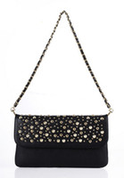 Cheap free shipping Lady Girl bags handbags women Skull Clutch Heads designer Handbag Single Shoulder Satchel BK172