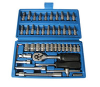 Wholesale Comprehensive Screws Sleeve pieces socket set car ratchet wrench Auto Repair Tools combination