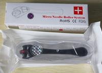 acne store - 180 Needles Microneedle Derma Skin Meso Roller Acne Scar Stretch Dermapen Store