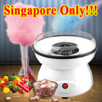 Wholesale Cotton Candy Maker Machine V W Marshmallow Maker Child birthday New Development Cute Household Power Operated Spun Sugar Processor