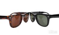 Glass Fashion Wayfarer Wholesale - sunglasses men sunglasses women sunglasses folding sunglasses choice of colors