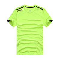 Wholesale 12626 F50 Mens Designer Quick drying Hot Casual T Shirts Slim Fit Tops New Fashion Sport Shirt CLIMACOOL