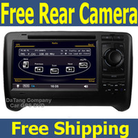 2 DIN audio tape recorder - 2 Din Car DVD Player for Audi TT Head Unit Sat Nav with GPS Navigation Radio Audio Video Stereo Tape Recorder