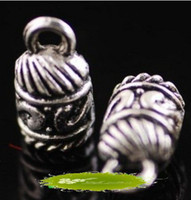 Wholesale Cheap Sale End Bead Stopper Caps Fit mm Cord Necklace Jewelery Findings a0010