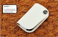 Wholesale Leather car key case Fob cover For lexus IS250 ES240 GS LS RX270 LX lexus car key bag key ring