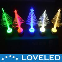 Wholesale Christmas Decoration LED Tree Light Optical Fiber Lamp RGB White Warm White V