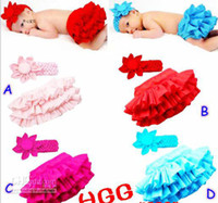 Wholesale Christmas baby tutu skirt sets girls ruffle skirts dress baby big flower headband for T pc headbands skirts u pick up color free x