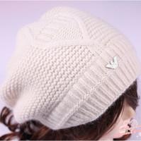 Blending rabbit fur hat - HOT sale fashion hat Autumn and winter wool rabbit fur knitted female hat women s winter wool rabbit fur knitted female hat women s cap