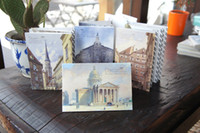 Wholesale Freeshipping Korea stationery memory heart poetry City Pictorial postcard card crafts
