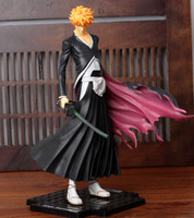 Wholesale Brand New Japanese Anime BLEACH ichigo Action Figure