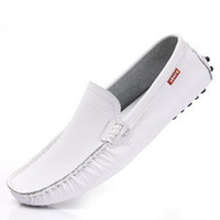 Wholesale Sneakers for Men Moccasins Genuine Leather Casual Mens Loafers Driving Shoes