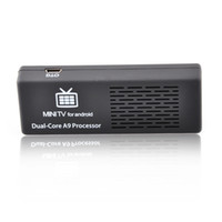 Wholesale MK808B Dual Core Cortex A9 MINI PC Smart TV BOX GHz RAM GB GB HDMI Bluetooth Android RK3066 TV BOX