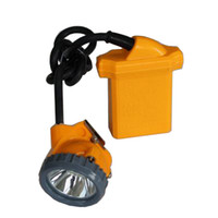 Wholesale LED Mine Lamp Headlamp Cap Light Coal Miners Headlight